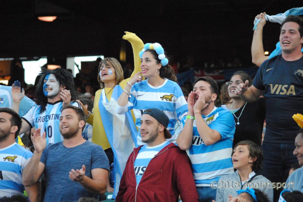 Argentina 7s fans